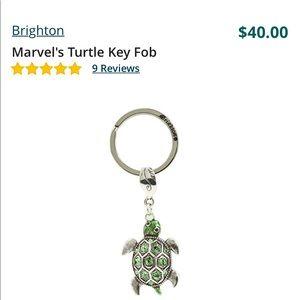 NIB Brighton Turtle Key Chain